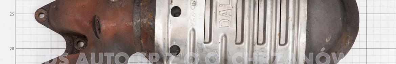 Katalizator RHD z modelu Kia Cerato
